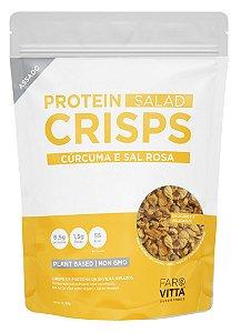 Farovitta Protein Crisps Cúrcuma e Sal Rosa 85g