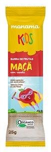 Monama Kids Barrinha de Cereal Orgânica Aveia, Maçã e Canela