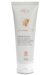 Arte dos Aromas Creme Facial Immortelle e Ácido Hialurônico Orgânico 50g