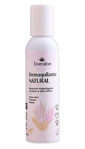 Livealoe Demaquilante Natural Aloe Vera, Lippia e Folha Santa 120ml