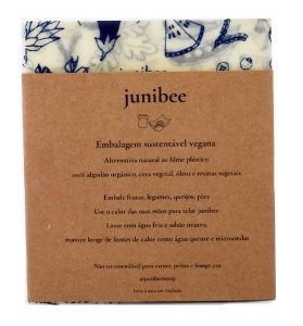 Junibee Embalagem Wrap Reutilizável Tamanho M 1un