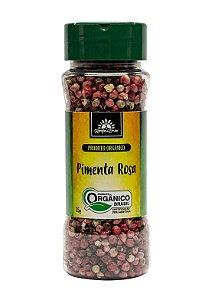 Kampo de Ervas Pimenta Rosa (Aroeira) em Grãos Condimento Puro Orgânico 35g