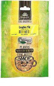 Kampo de Ervas Chá de Gengibre em Lascas Orgânico Fracionado 40g