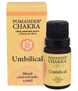 Pomander Chakra Umbilical Blend Concentrado para Massagem e Difusor 10ml