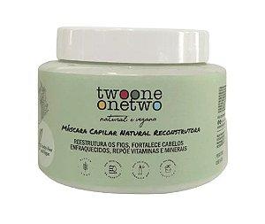 Twoone Onetwo Máscara Capilar Reconstrutora Detox Balance 200g