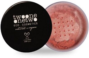 Twoone Onetwo Blush Facial em Pó Peach 9g