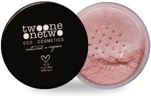 Twoone Onetwo Blush Facial em Pó Rose 9g
