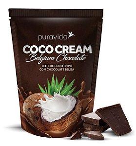 Puravida Coco Cream Belgium Chocolate - Leite de Coco em Pó com Cacau Gourmet