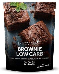 Puravida Mistura Para Brownie Low Carb Zero Açúcar 400g