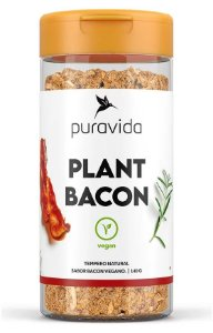 Puravida Plant Bacon - Tempero Natural Sabor Bacon Vegano 140g