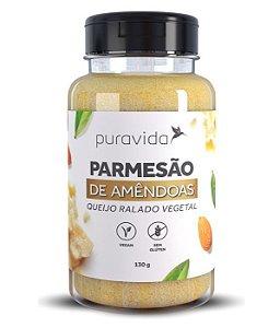 Puravida Parmesão de Amêndoas - Queijo Ralado Vegetal 130g