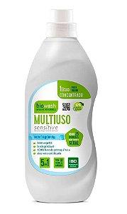 Biowash Multiuso Concentrado Natural Sensitive Sem Fragrância