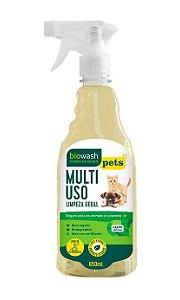 Biowash Pets Multiuso Pronto Para Uso Natural Capim Limão 650ml