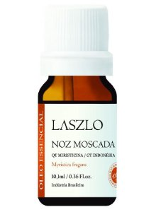 Laszlo Óleo Essencial de Noz Moscada GT Brasil 10,1ml
