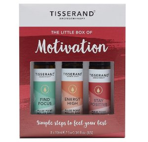 Tisserand Little Box of Motivation - Kit Motivação com 3 Roll-ons Aromaterápicos