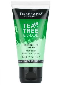 Tisserand Tea Tree e Aloe Skin Relief Cream - Creme Calmante da Pele 50ml