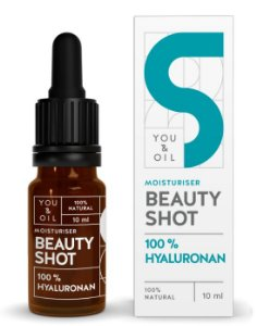You & Oil Beauty Shot Sérum Facial N5 Hidratante com Ácido Hialurônico 10ml