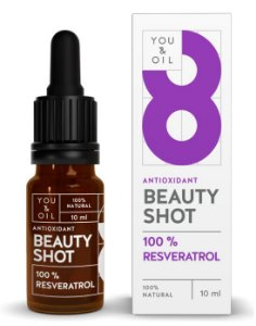 You & Oil Beauty Shot Sérum Facial N8 Antioxidante com Resveratrol 10ml