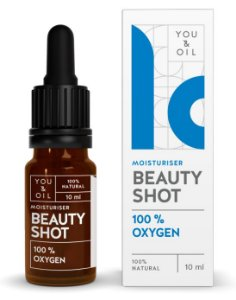 You & Oil Beauty Shot Sérum Facial Desintoxicante com Oxigênio 10ml