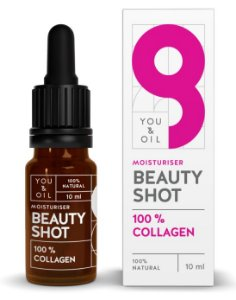 You & Oil Beauty Shot Sérum Facial Hidratante com Colágeno Vegetal 10ml