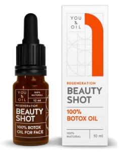 You & Oil Beauty Shot Sérum Facial Regenerador com Botox Vegetal 10ml