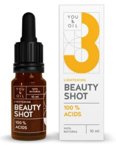 You & Oil Beauty Shot Sérum Facial N3 Pele de Porcelana com Ácidos Clareadores 10ml