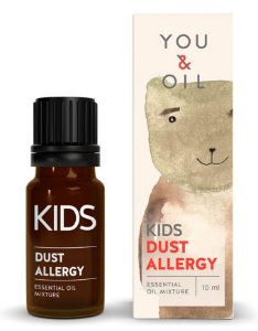 You & Oil Kids Alergia a Poeira - Blend Bioativo de Óleos Essenciais 10ml
