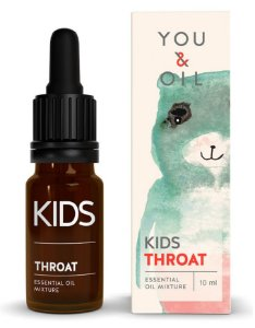 You & Oil Kids Dor de Garganta - Blend Bioativo de Óleos Essenciais 10ml