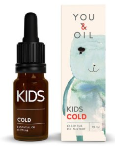 You & Oil Kids Resfriado - Blend Bioativo de Óleos Essenciais 10ml