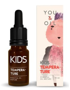 You & Oil Kids Febre - Blend Bioativo de Óleos Essenciais 10ml