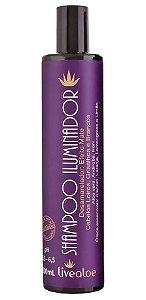 Livealoe Shampoo Iluminador Aloe Vera Desamarelador 300ml