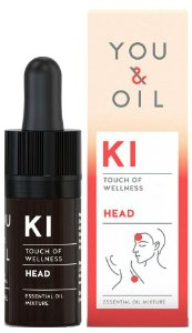 You & Oil KI Dor de Cabeça - Blend Bioativo de Óleos Essenciais 5ml