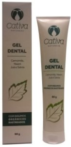 Cativa Natureza Gel Dental 80g
