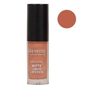 Benecos Batom Líquido Matte Liquid Lipstick Desert Rose 5ml