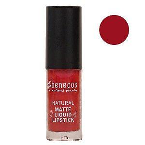 Benecos Batom Líquido Matte Liquid Lipstick Trust In Rust 5ml