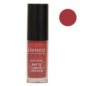 Benecos Batom Líquido Matte Liquid Lipstick Rosewood Romance 5ml