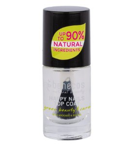 Benecos Esmalte Happy Nails Top Coat Crystal 5ml