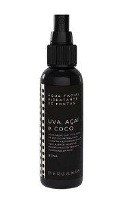 Bergamia Água Facial Hidratante de Frutas com Uva, Açaí e Coco 60ml