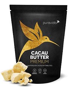 Puravida Cacau Butter Premium - Manteiga de Cacau em Tabletes 250g