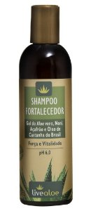 Livealoe Shampoo Fortalecedor com Aloe Vera