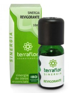 Sinergia Revigorante com Óleos Essenciais 10ml - Terra Flor