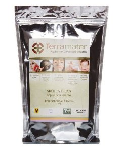 Terramater Argila Roxa 1kg
