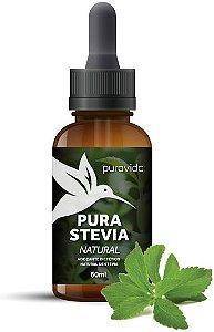Puravida Adoçante Natural em Gotas Pura Stevia 60ml