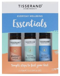 Tisserand Everyday Wellbeing Essentials - Kit com 3 Roll-ons Para Uso Diário