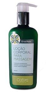 Cativa Natureza Erva Mate Loção Corporal para Massagem 240ml