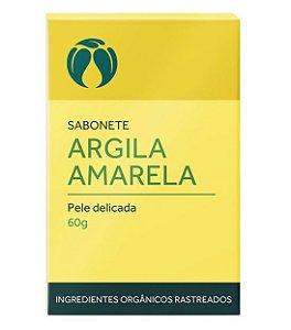 Cativa Natureza Sabonete Argila Amarela Pele Delicada 60g