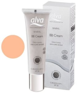 BB Cream Orgânico Medium Brown Sensitive FPS 20 - Multiuso 30ml - Alva