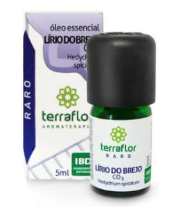Terra Flor Óleo Essencial de Lírio do Brejo CO2 5ml