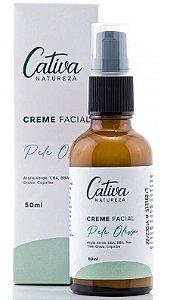 Cativa Natureza Pele Oleosa Creme Hidratante Facial 50ml