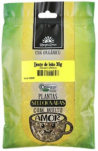 Kampo de Ervas Chá de Dente de Leão Orgânico Fracionado 30g